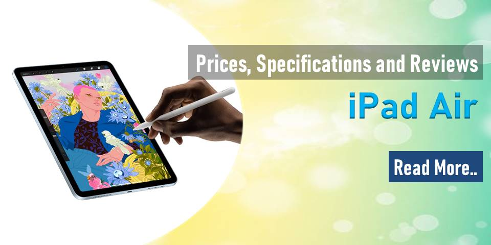 iPad Air : Prices, Specifications and Reviews